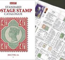 Great Britain SHORT 2022 Scott Catalogue Pages 393-478