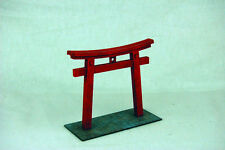 Japan TORII TEMPLE GATE SAMURAI/ JAPANESE 28mm MDF Building B002 Sarissa Prec...
