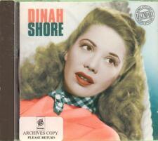 Dinah Shore(CD Album)Dinah Shore-Dinah Shore-New