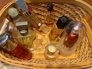 great vintage 80's 90's lot perfume bottles benetton diesel escape eternity ++
