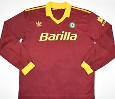 1991-1992 ROMA ADIDAS HOME FOOTBALL SHIRT (SIZE M)