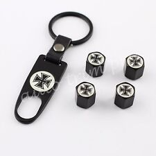Truck Accessories Dust Wheel Rim Tire Tyre Valve Stems Air Cap Cover Cross Style
