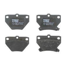 Plaquettes de frein, frein à disque trw gdb3243
