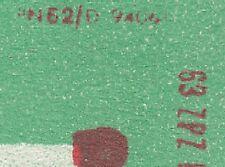 POLAND 1963 Matchbox Label - Cat.Z#566c.-r. I Two chimneys of burning matches.