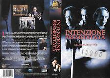 INTENZIONE PREMEDITATA - DELIBERATE INTENT (2000) vhs ex noleggio