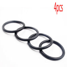 4Pcs Black Quick Release Fastener Bumpers Fender Replacement Rubber Band O-Rings