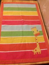 NEXT -  children baby rug matt unisex giraffe nursery 68 x 100 cm