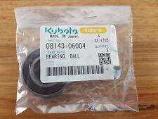 NEW KUBOTA BALL BEARING (P/N 08143-06004) FREE POSTAGE