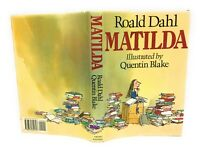 Matilda by Roald Dahl Book First US Edition 1st Printing Hardcover 1988 DJ