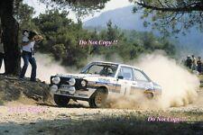 El Señor Vatanen nos Ford Escort RS1800 ganador Acrópolis Rally 1981 fotografía 3