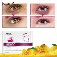 PTOPR 1PC Mango Vitamin c Hydrating Eye Mask Moisturizing Smooth Tight Eye Mask