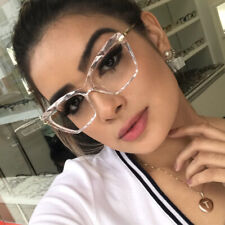 Luxury Square Glasses Eyeglass Frames Women Fashion Optical Computer Eyewear Top