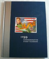 1999 Commemorative Stamp Yearbook USPS Souvenir Mint Set Album with Stamps
