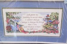 Bucilla Summer Symphony Counted Cross Stitch Kit 40925 Country Garden Home NEW