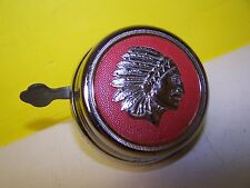 VINTAGE Indian CHIEF HEAD DRESS Bicycle Bell Made in Germany. BALLOON ERA WORKS