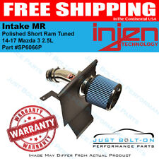 Injen Fits 14-17 Mazda 3 2.5L  Polished Short Ram Tuned Intake MR SP6066P
