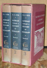 Materials Toward a History of Witchcraft-3 Volume Set-Henry Charles Lea