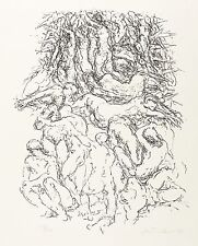 GERHARD KETTNER - Auferstehung - Federlithografie 1983