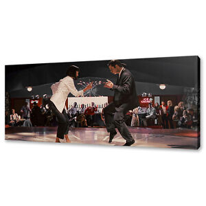 Pulp Fiction dance scene canvas print picture wall art free fast delivery