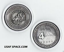 APOLLO 13 - 40TH ANNIVERSARY MEDALLION - CONTAINS METAL FLOWN TO THE MOON
