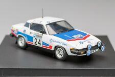 Triumph TR7 #24 Culcheth/Syer 9th Lombard RAC Rally 1976 TROFÉU 1:43
