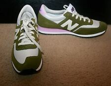 WOMEN'S NEW BALANCE FOR J.CREW 620 SNEAKERS SIZE 9,5M OLIVE PINK