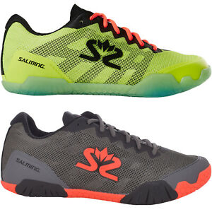 Salming Mens Hawk Lace Up Sports Indoor Court Squash Badminton Trainers