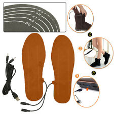 1 Pairs USB Electric Powered Heated Shoes Insoles Boots Keep Feet Warm For Men