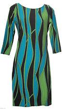Wallis Women's Viscose 3/4 Sleeve Dresses Midi