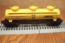 LIONEL TRIPLE DOME TANK CAR SCOUT OIL COMPANY #36153  O GAUGE