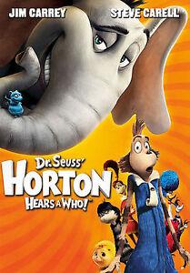Dr. Seuss Horton Hears a Who (DVD, 2009)