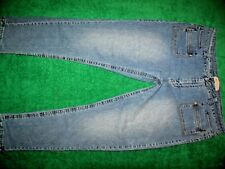 080ea21eaed Women s Apollo Jeans Skinny Straight Leg Blue Jeans Cotton Size 21 22 (44