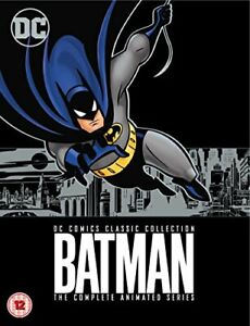 Batman: The Animated Series S1-4 [DVD] [2017][Region 2]