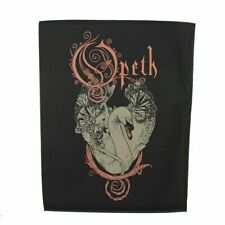 Large Opeth Swan Woven Sew On Battle Jacket Back Patch