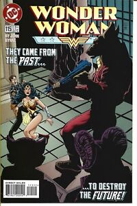 WONDER WOMAN #115 DC COMICS 1996 BAGGED AND BOARDED