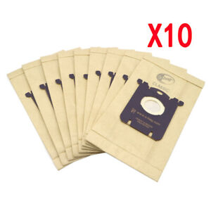 10pcs Dust bag for Electrolux E201B Philips FC802 S-bag GR201 AEG FC9000 FC9049