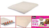 Dog Cat Puppy SELF HEATING PET PAD Bed Thermal Heat Mat Winter Fleece