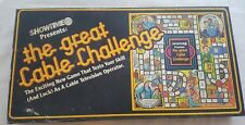 The Great Cable Challenge Board Game Showtime Television Operator New 1980