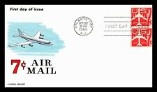 OAS-CNY #135 FDC AIR MAIL FLUEGEL 1960 2 OR MORE AUCTIONS SHIP FREE
