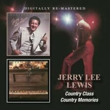JERRY LEE LEWIS - COUNTRY CLASS/COUNTRY MEMORIES  CD NEW+