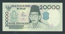 F.C. INDONESIA , 20000 RUPIAS 1998/02 , S/C ( UNC ) , P.138e .