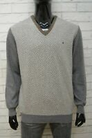 BROOKSFIELD Uomo Taglia XL Maglione Maglia Pullover Cardigan Sweater Man Lana