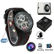 8G HD Waterproof Spy Watch Hidden Camera DVR Digital Video Cam Nanny Camcorder