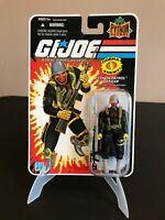 GI Joe 2008 Python Patrol 3 3/4 Cobra Python Officer Action Figure MOC Hasbro