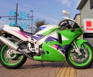 Green whtie Fairing Bodywork Plastic Kit fit Kawasaki ZXR250 1991-1998 4 D1