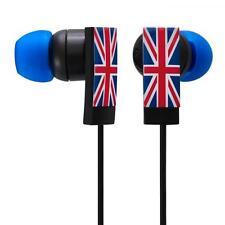 Groov-e GV-EB7 In Ear Bud Stereo Headphones Union Jack Design Red White Blue New