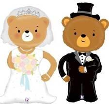 d38608ce62d5 LINKY BRIDE   GROOM BEARS LARGE SUPER SHAPE FOIL WEDDING BALLOONS