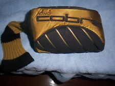 King Cobra SS Driver Head Cover Black And Gold