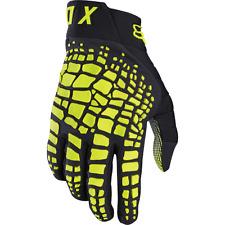 Fox 360 Grav Gants Paire De Gants De Coloris Noir/jaune Taille L
