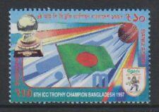 Bangladesh - 1997, 6th Int. Cricket Trophy stamp - MNH - SG 649
